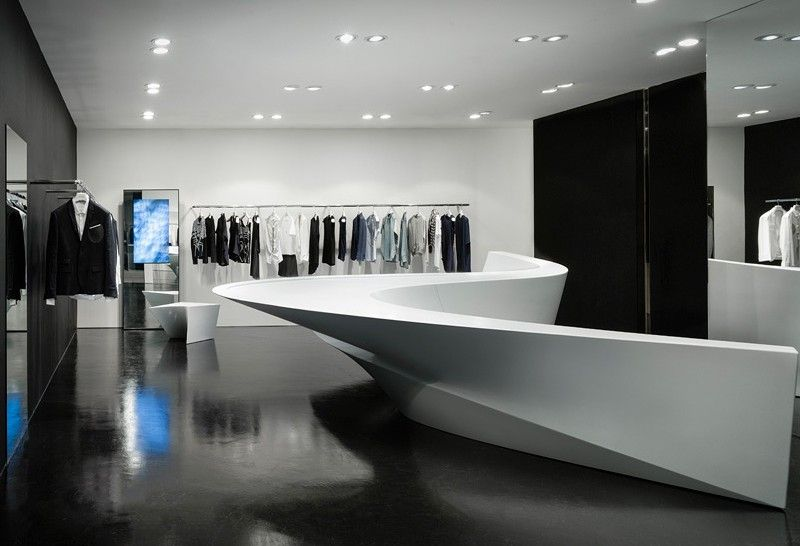 Zaha Hadid and Neil Barrett Team Up For Shop-In-Shops in Seoul and Hong Kong