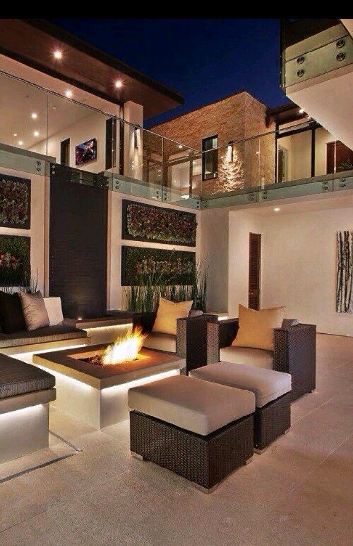 Außergewöhnlich Outdoor Möbel, Leben Unter Freiem Himmel, Haus Architektur, Garten  Terrasse, Innenhof, Haus Design, Gewinner, Luxus, Einrichten Und Wohnen