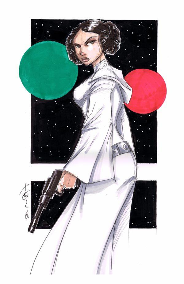 Leia by Hodges-Art