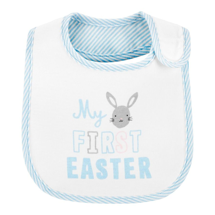 Baby Carter's My First Easter Bunny Teething Bib