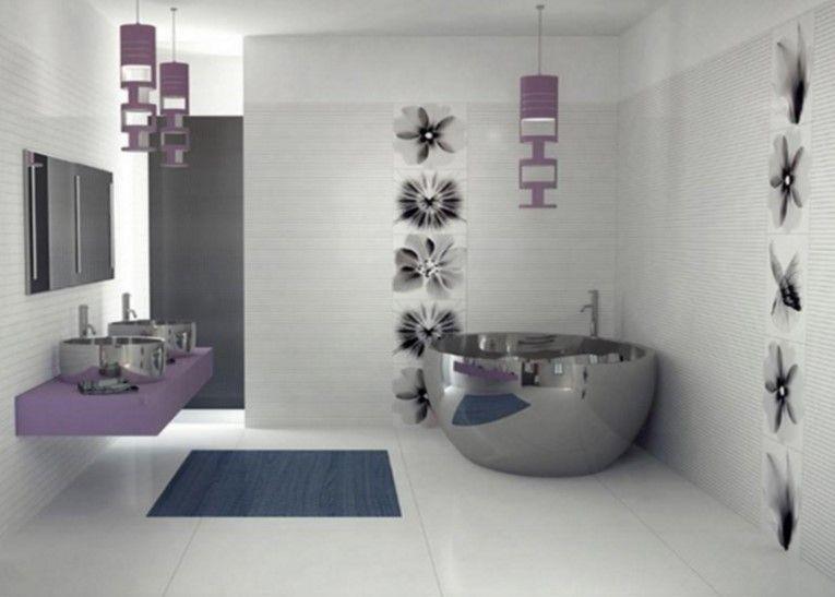 coole bilder von badezimmern - inspirierende designs,2016 lila, Hause ideen