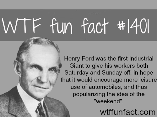 interesting facts about henry ford