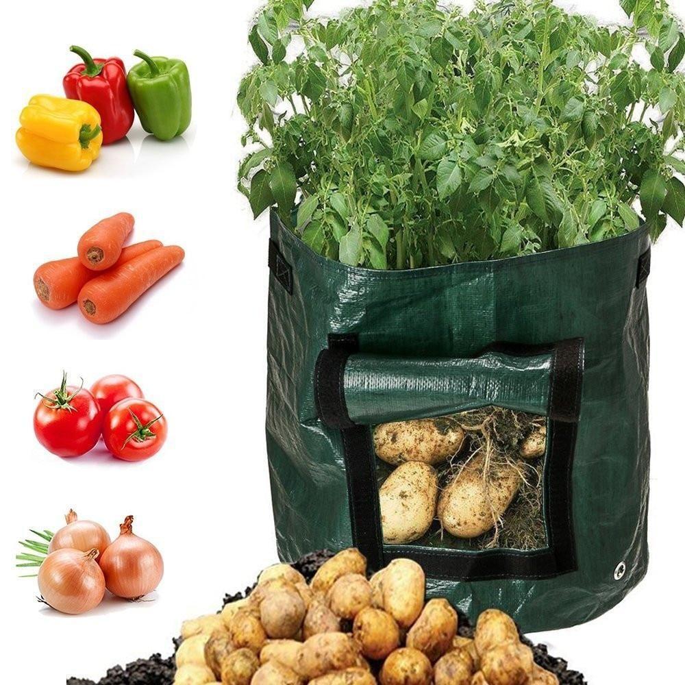 Vegetable Plant Grow Bag Diy Potato Grow Planter Pe Cloth 400 x 300