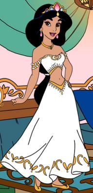 Princess Jasmine S Wedding Dress Restyle By Unicornsmile On