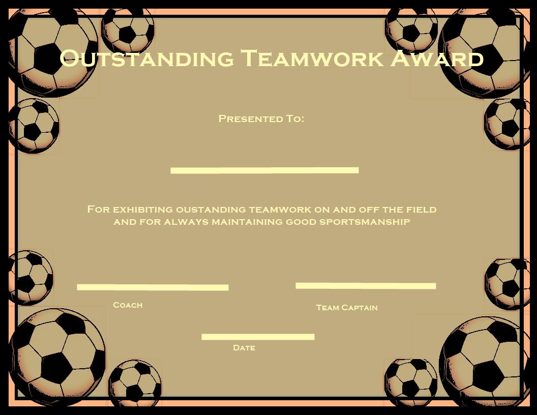 17 Best images about Awards Certificates – Sports Award Certificates