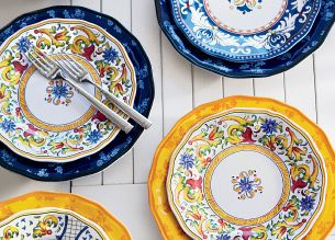 mix and match melamine dinnerware is made for outdoor - Melamine Dishes