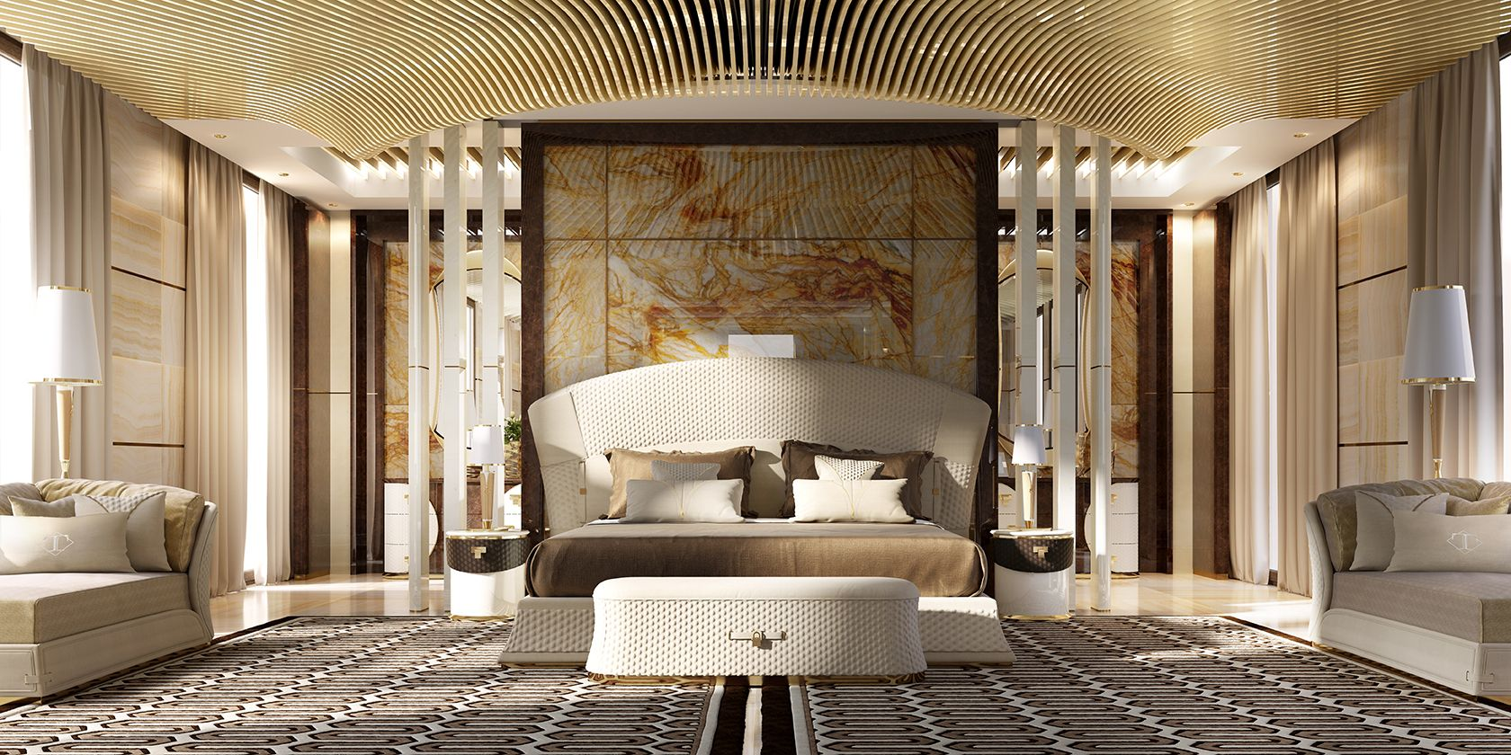 Vogue bedroom italian luxury bedroom - Mobili luxury design ...