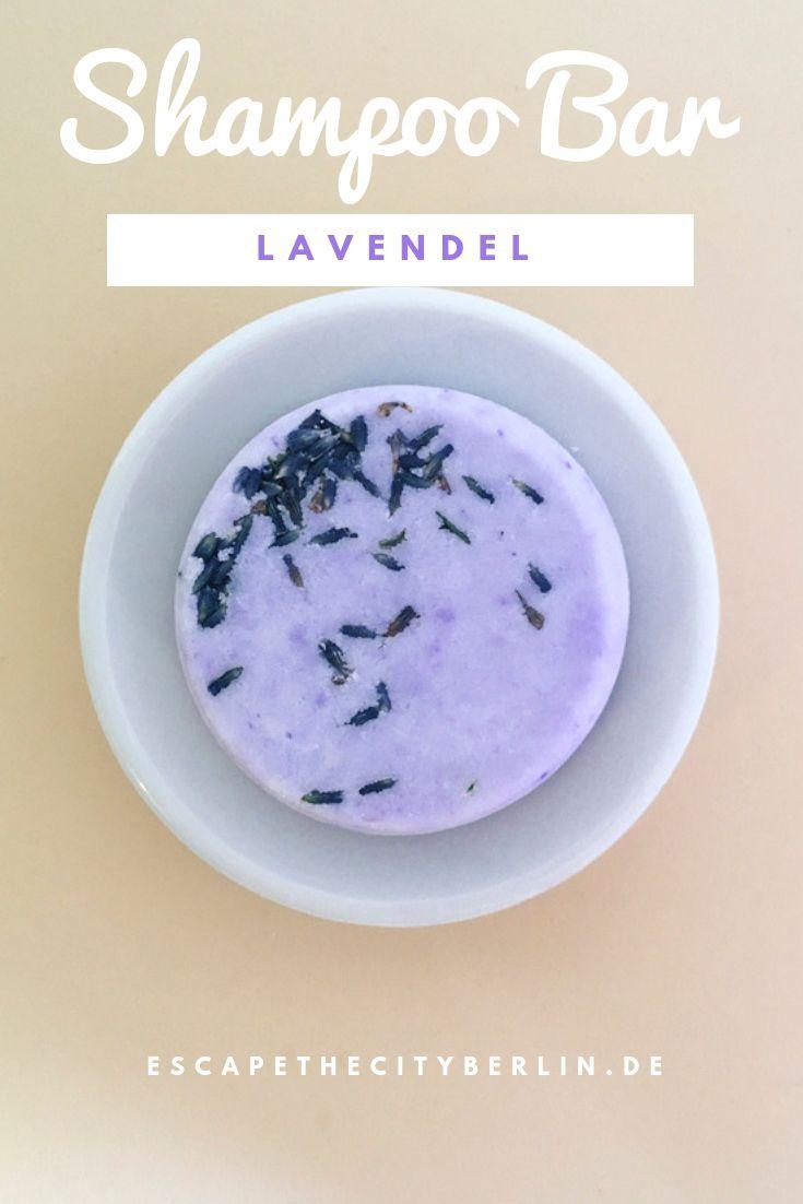Ein festes Shampoo mit Lavendel- und Sonnenblumenöl #homemadeskincare