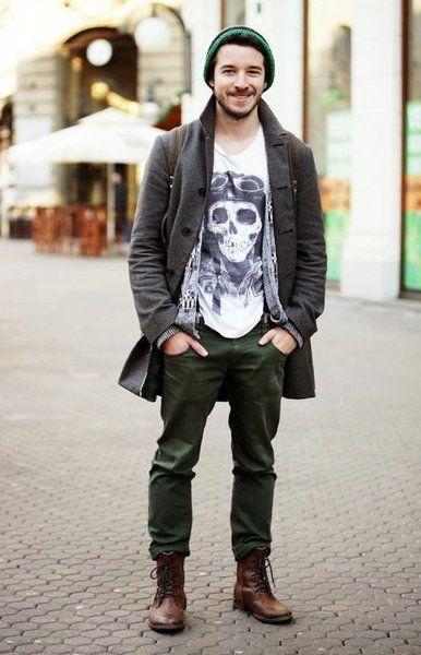 Jak Nosic Buty Za Kostke Hipster Mens Fashion Hipster Fashion Mens Street Style