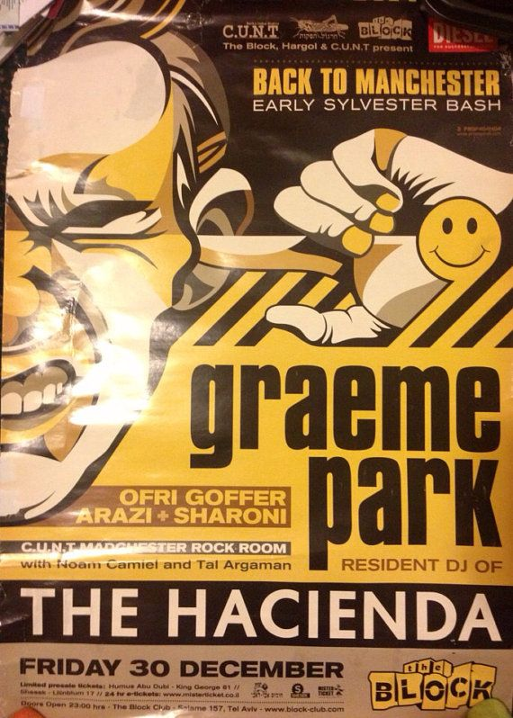 Very rare import from Israel Hacienda poster on Etsy, $67 99 | ln My