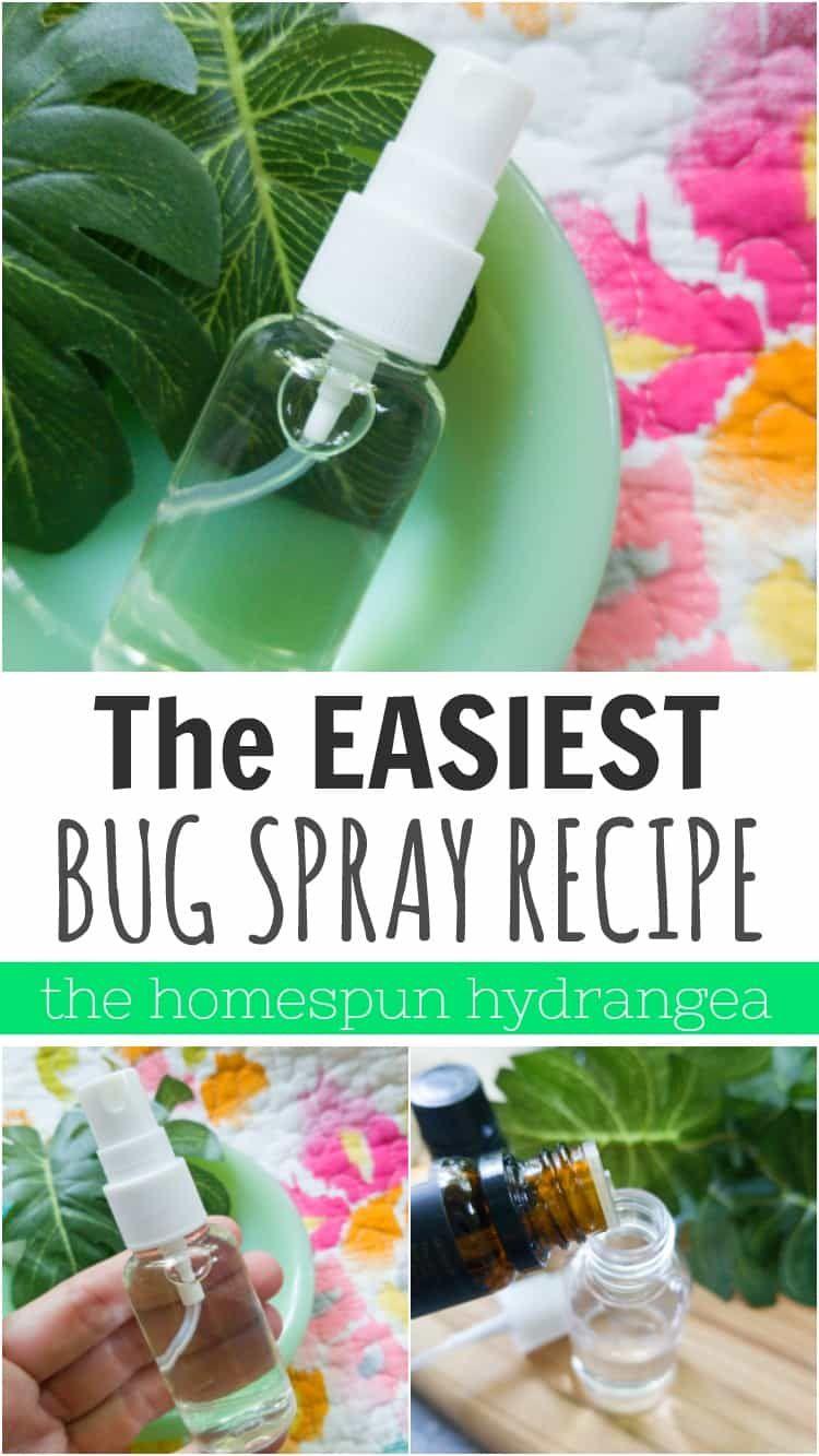 Diy homemade bug spray recipe the homespun hydrangea in