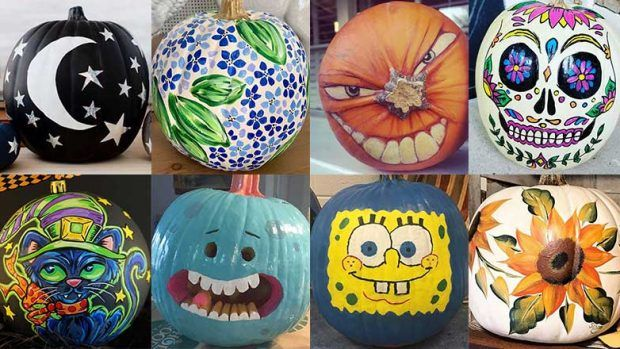 50+ Free Simple Yet Scary Halloween Pumpkin Carving Ideas 2017 for Kids & Adults #50freeprintables
