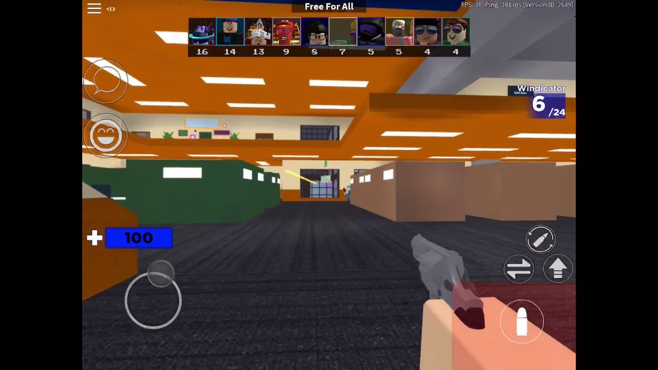 Good Mobile Roblox Games Another Roblox Mobile Fps Game Fps Games Roblox Fps