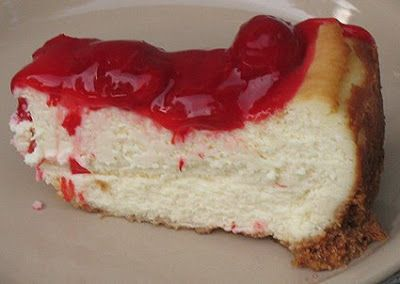 Cherry Cheesecake Amanda S Cookin Cheesecake Recipes Top Cheesecake Recipe Just Desserts