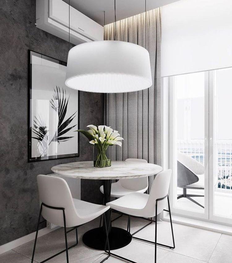 Vous Devez Voir Cette Merveilleuse Salle A Manger Avec Des Meubles De Luxe Pour Vous Aider A Ameliore Modern Houses Interior Apartment Interior Design Interior