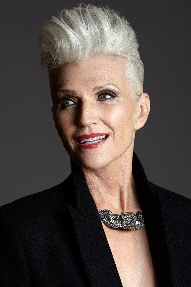 Silver Model Management Agence De Mannequins Gorgeous Gray