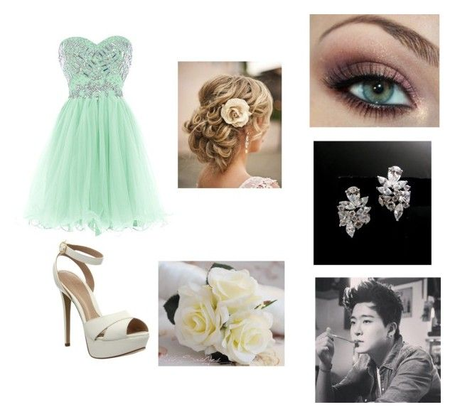 """""""Prom with Youngjae"""" by laylarawlings on Polyvore featuring Office"""