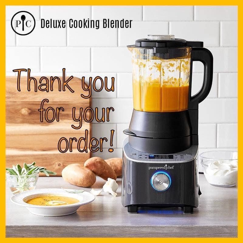 Other Kitchen Tools & Gadgets Pampered Chef DELUXE COOKING BLENDER ...