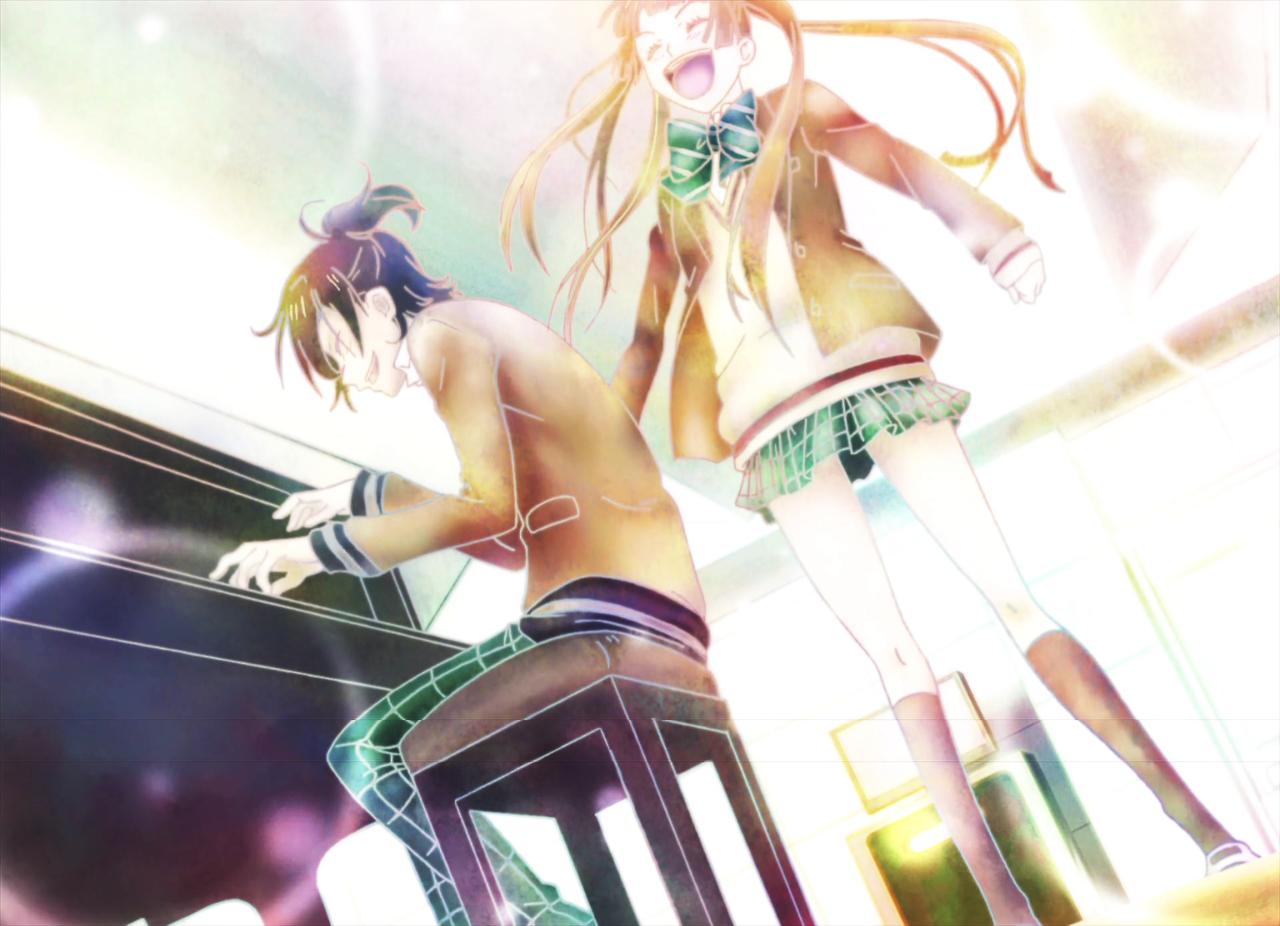 Yuzu Fukumenkei Noise   Tumblr   anime/art/drawing   Anime