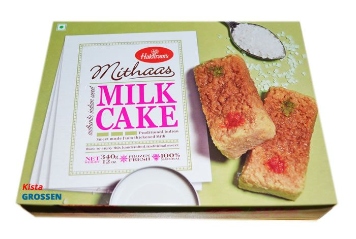 Cake Recipes In Marathi Information: Frozen Milk Cake - Haldiram's