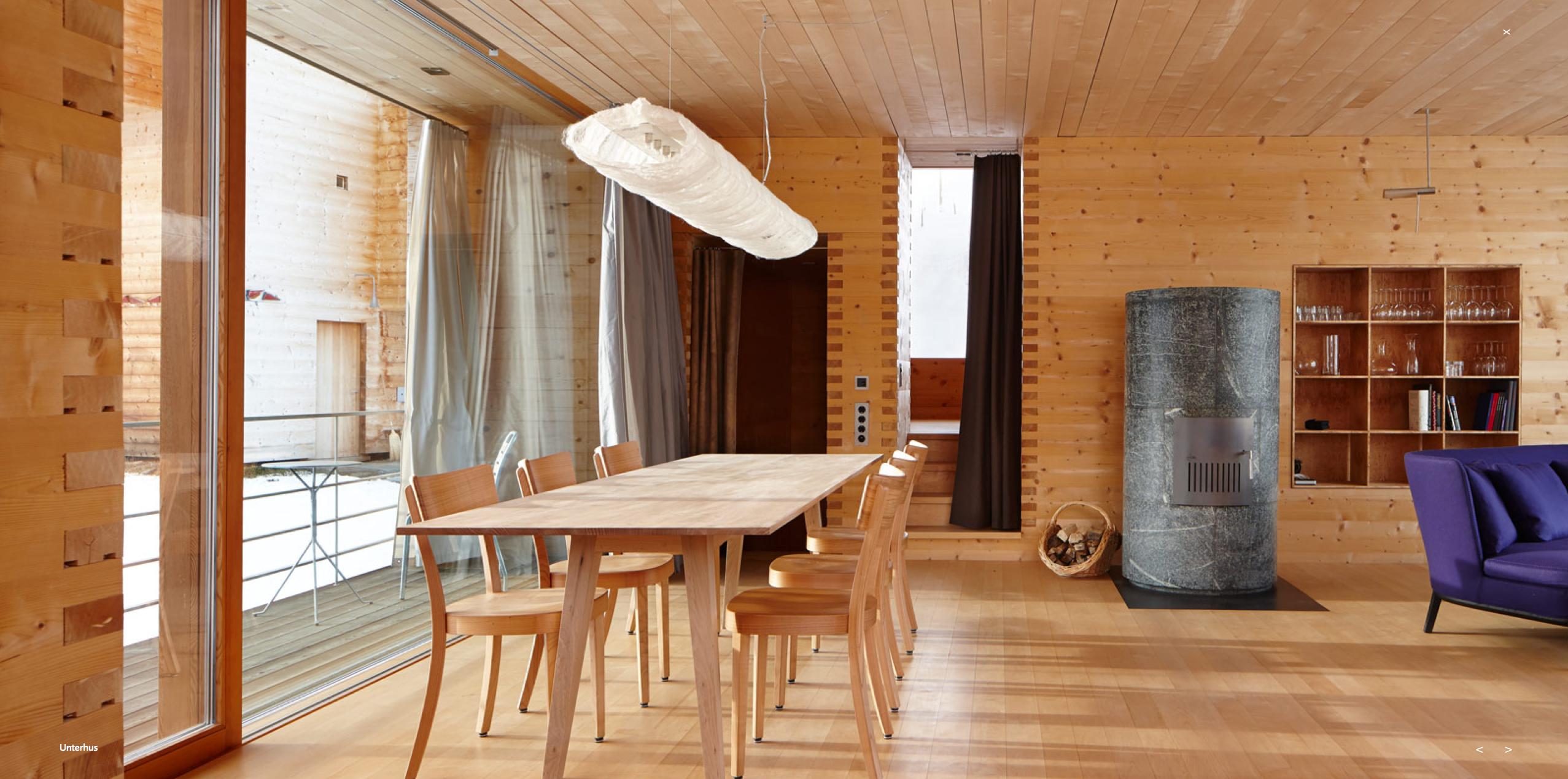 Peter Zumthor Cabins : Vals Switzerland | zumthor. Oberhus ...