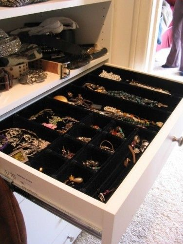 The Closet Guy Custom Designed Inserts @  Http://www.houzz.com/discussions/79502/Where Can I Find These Drawer Inserts Fo#