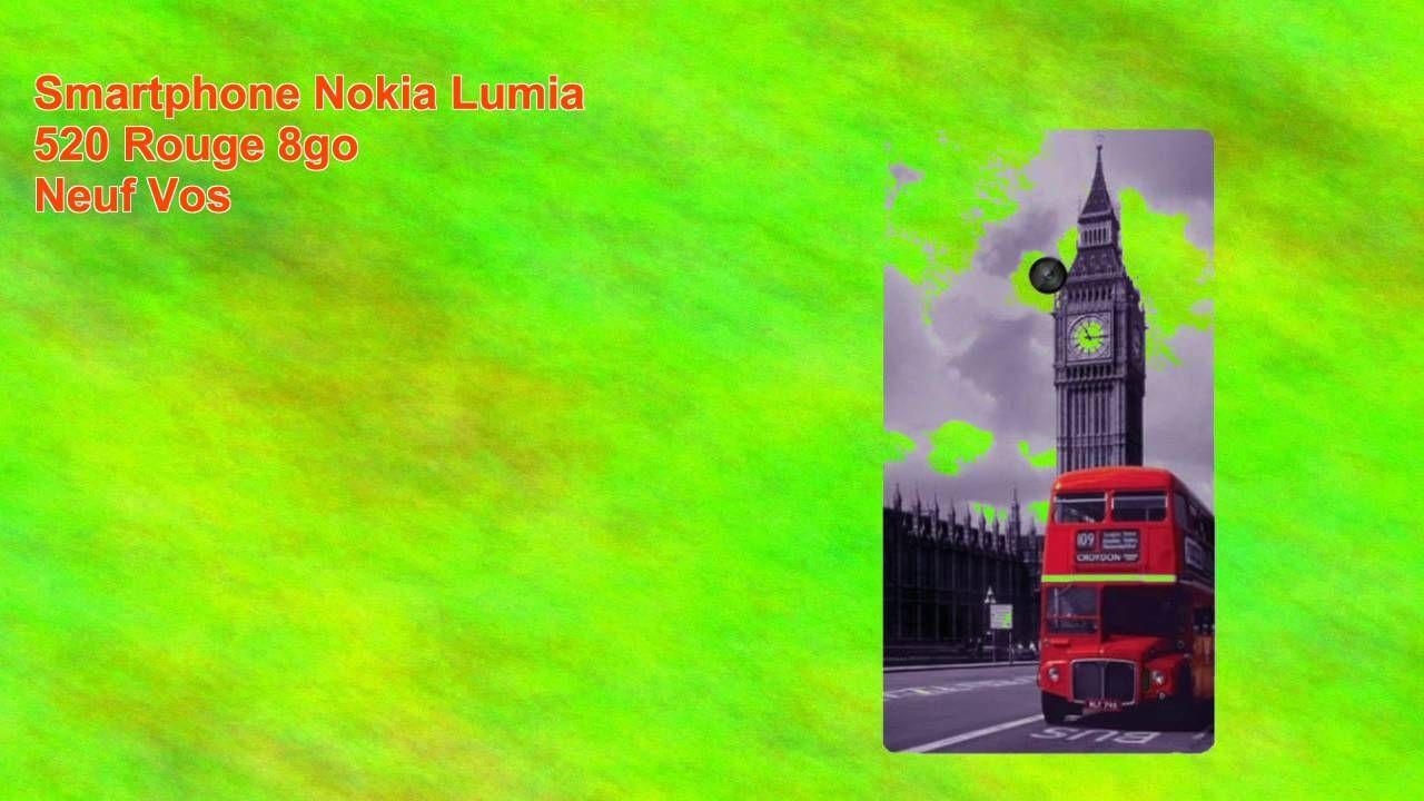 awesome Smartphone Nokia Lumia 520 Rouge 8go Neuf Vos Check more at http://gadgetsnetworks.com/smartphone-nokia-lumia-520-rouge-8go-neuf-vos/