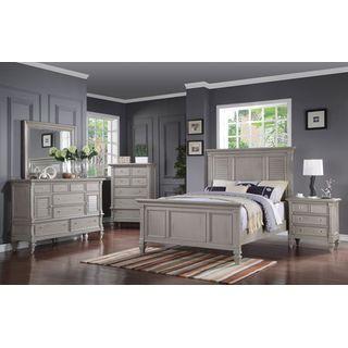 Brimley 13-Piece Queen Bedroom Set - Grey  Levin Furniture  King