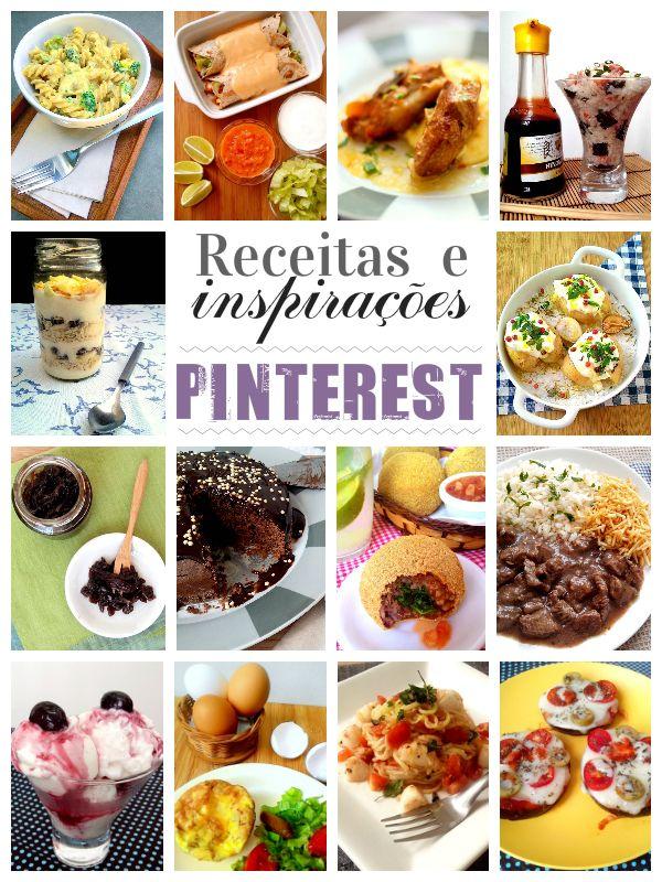 14 Receitas Lindas E Inspirações Do Pinterest Receitas Receitas Deliciosas Melhores Receitas