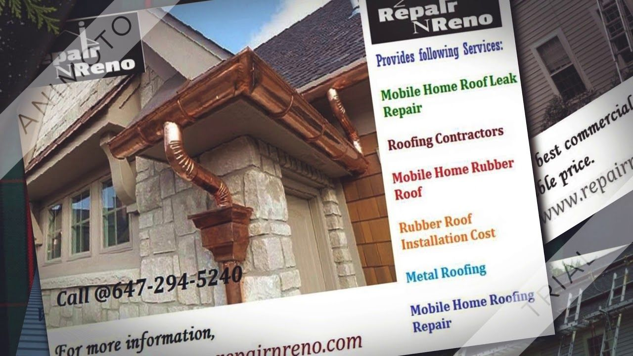 Residential and Commercial Roofing RepairNReno