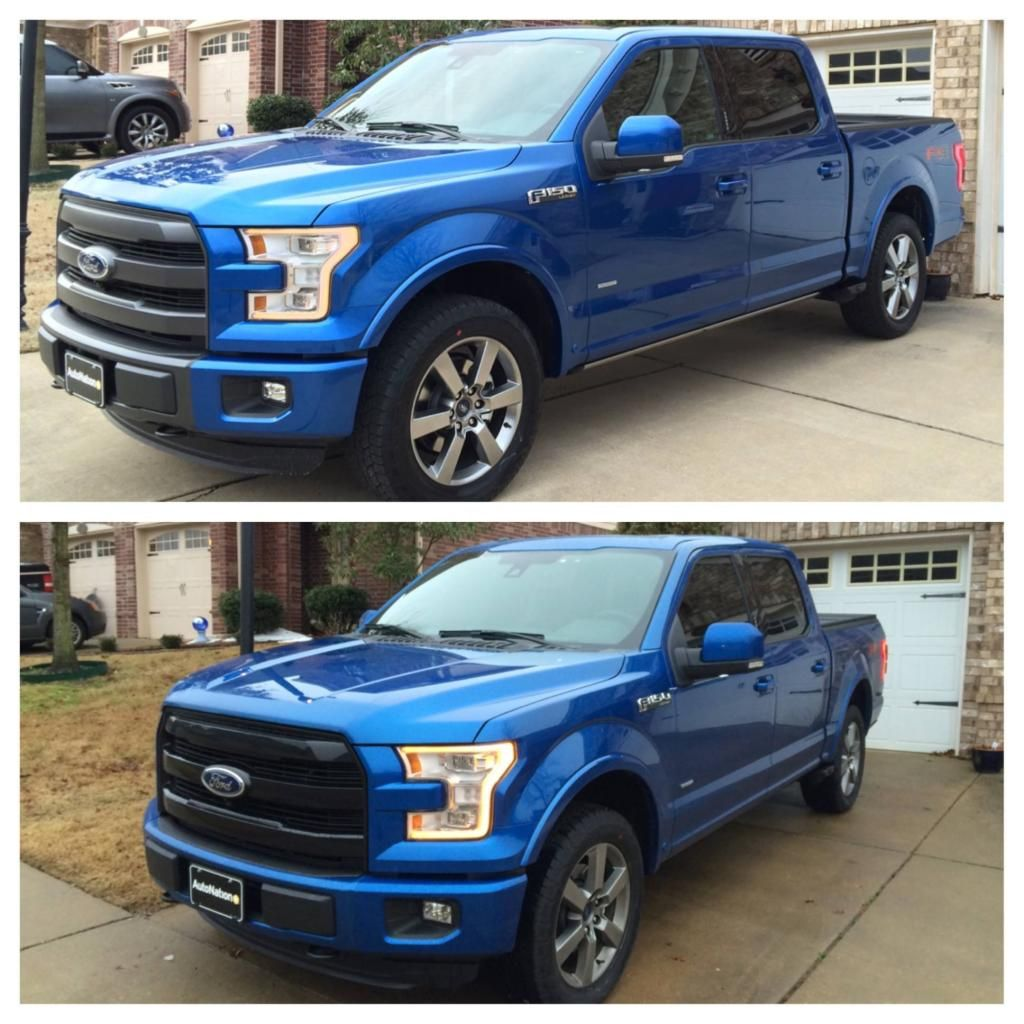 Sport Grill Mods Ford F150 Forum Community Of Ford Truck Fans Ford F150 Ford F150 Custom Sports Grill