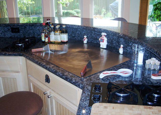 Hibachi Grill For Home Kitchen Island