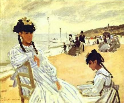 Artify Collections - On the Beach at Trouville, 1870-71 By Claude Monet, $116.10 (http://artifycollections.com/on-the-beach-at-trouville-1870-71-by-claude-monet/)