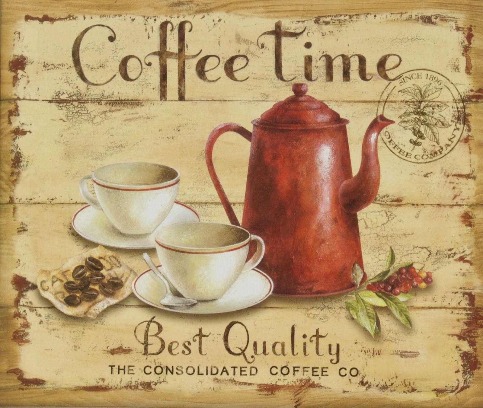 Поздравления, картинки на кофейную тему для декупажа