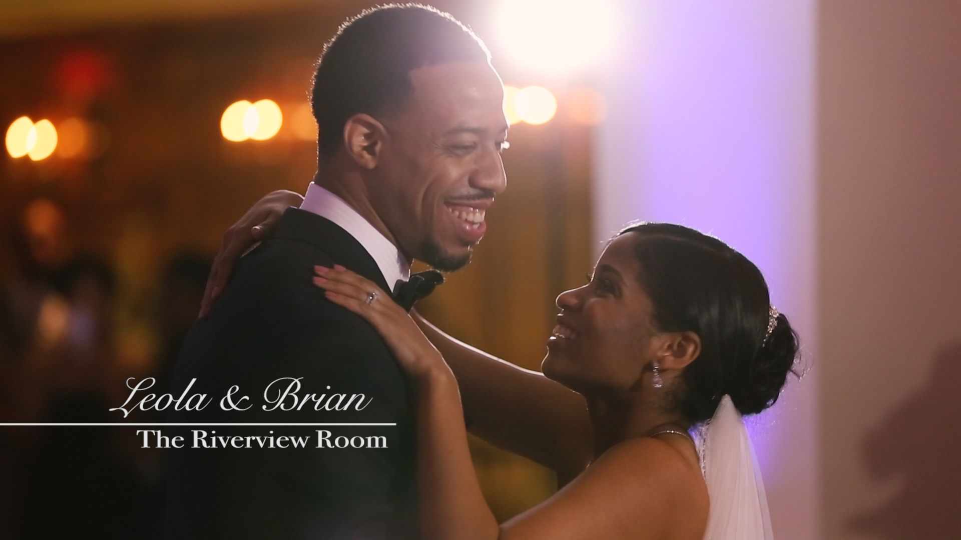 Leola & Brian // Riverview Room Wedding Video  http://www.bridefilm.com/blog-bridefilm/leola-brian-riverview-room-wedding-video