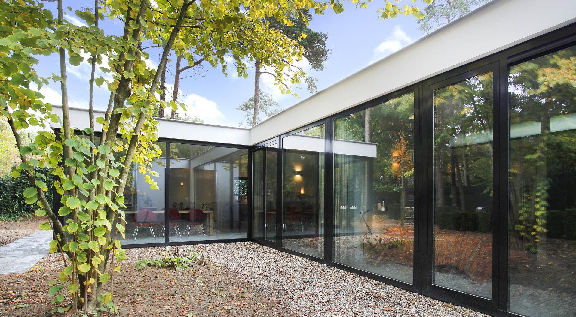 Villa helvoirt architectuur otten van eck arquitetura