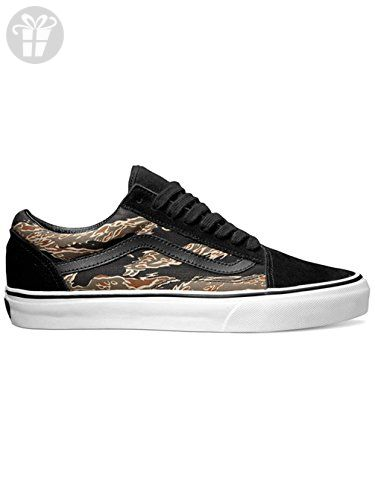 d57e6efb1a Vans Old Skool (Suede) Tiger Camo Black Mens 7.5 ( Amazon Partner-Link)