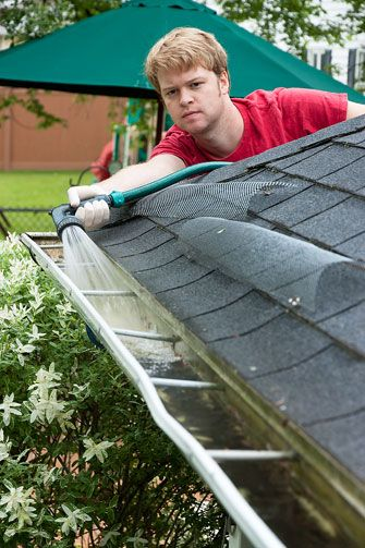 Dallas Fort Worth And Surrounding Suburb Homeowners Can Expect Exceptional Service From Ned Stevens Gutter Clea Cleaning Gutters Gutters How To Install Gutters
