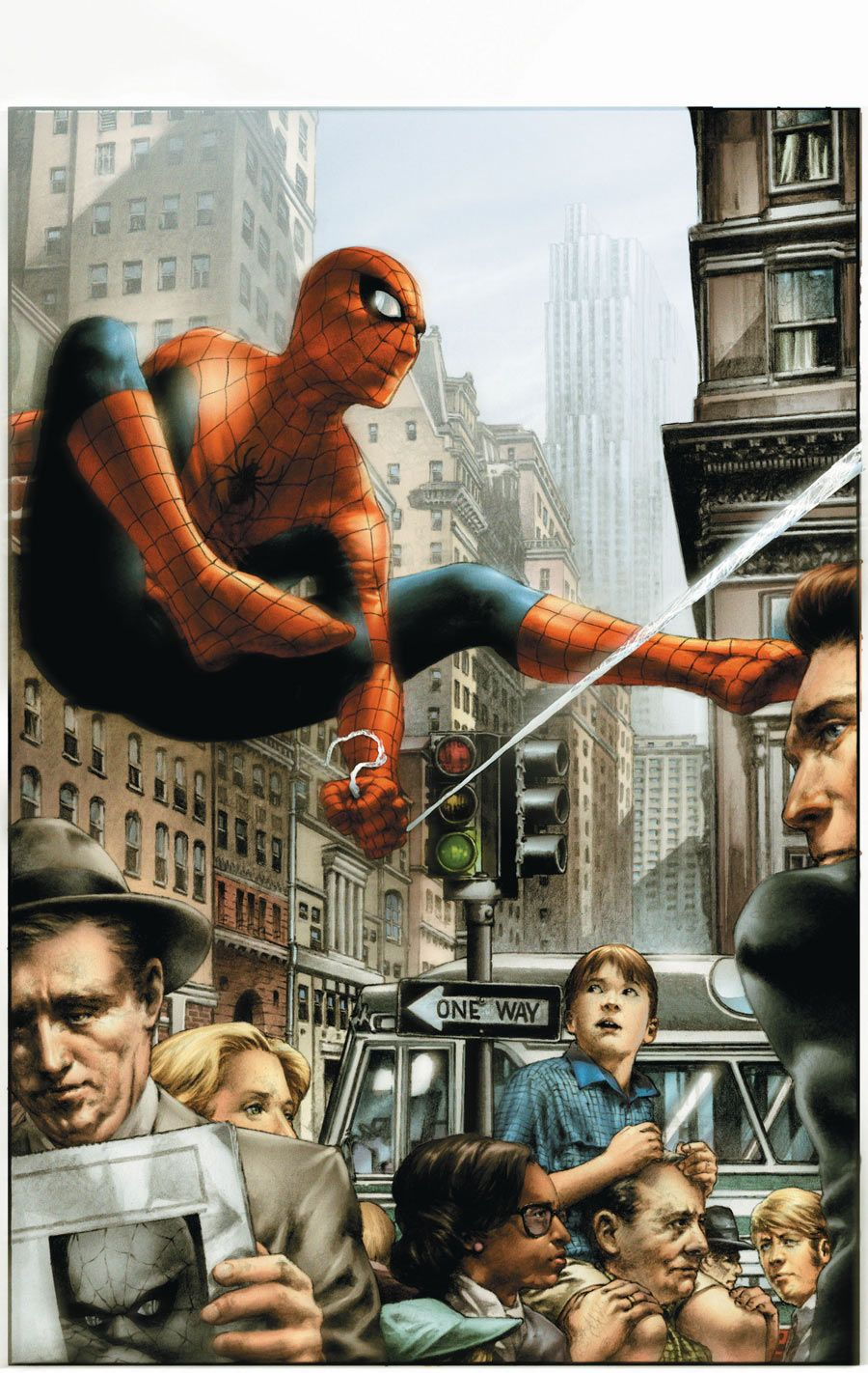 Spider Man From Marvels By Alex Ross Herois Marvel Herois Marvel