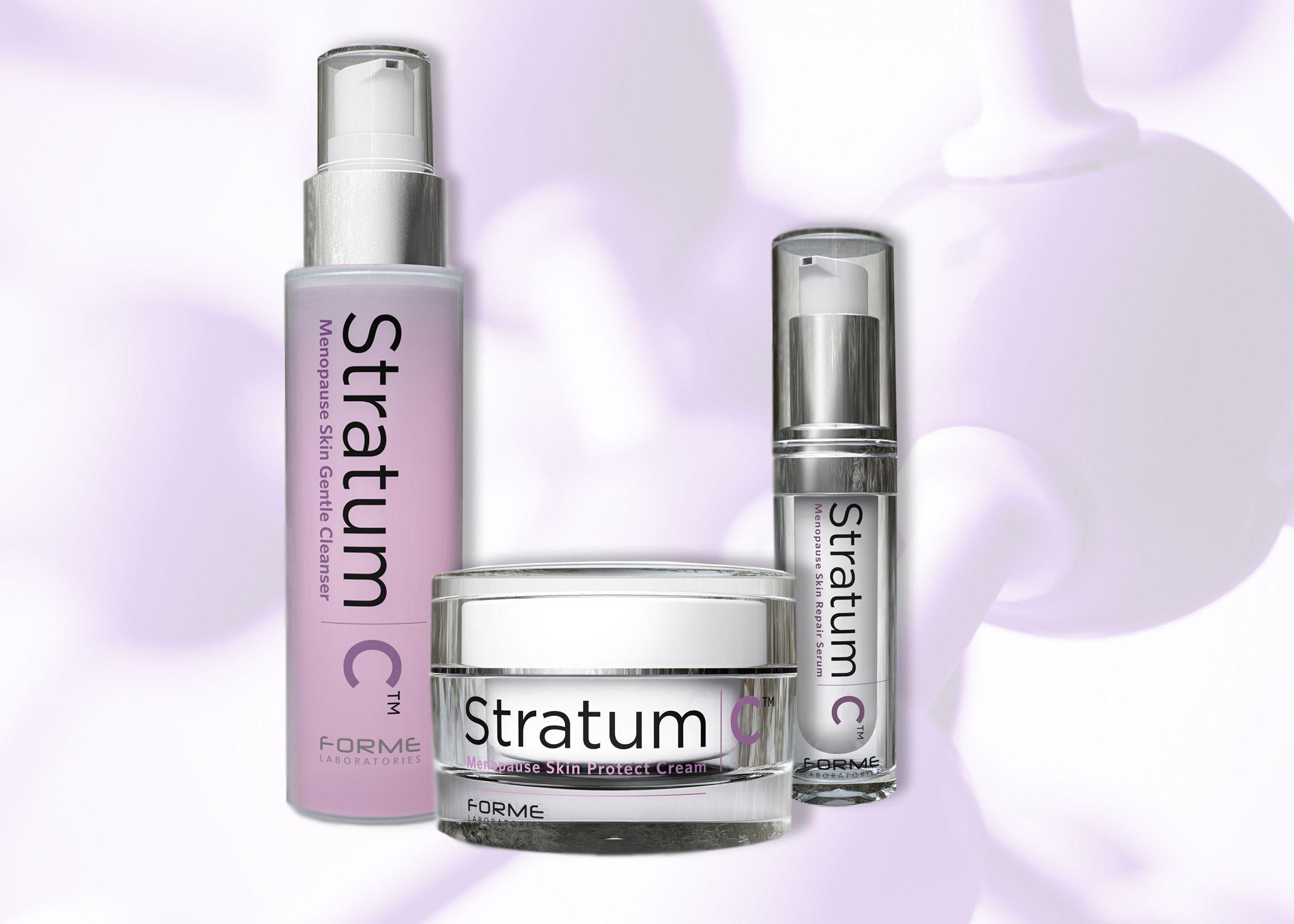 Stratum c menopause skin care