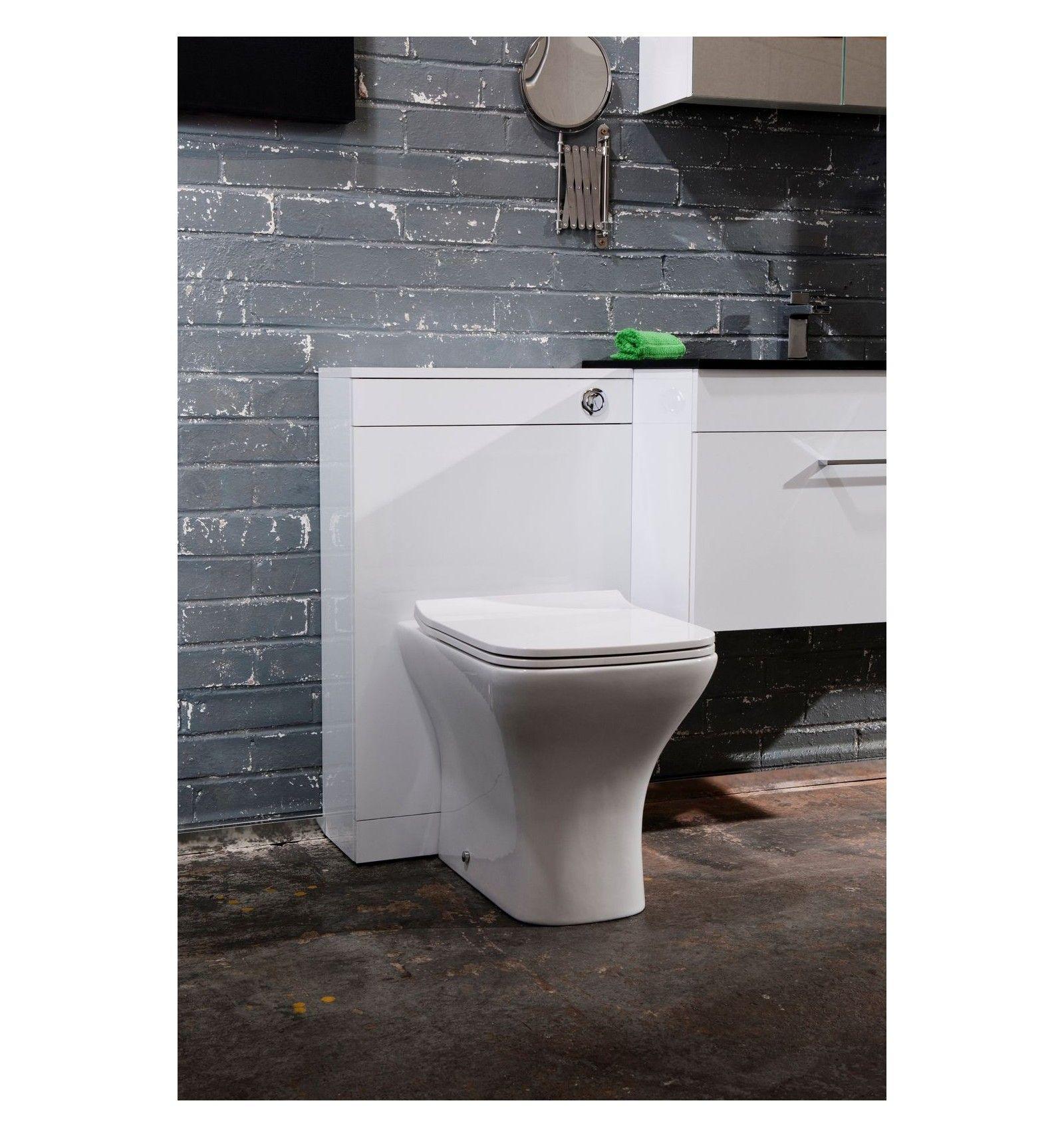 FAIR Back to Wall Pan With Slimline Seat Toilet Set | Leeds, Toilet ...