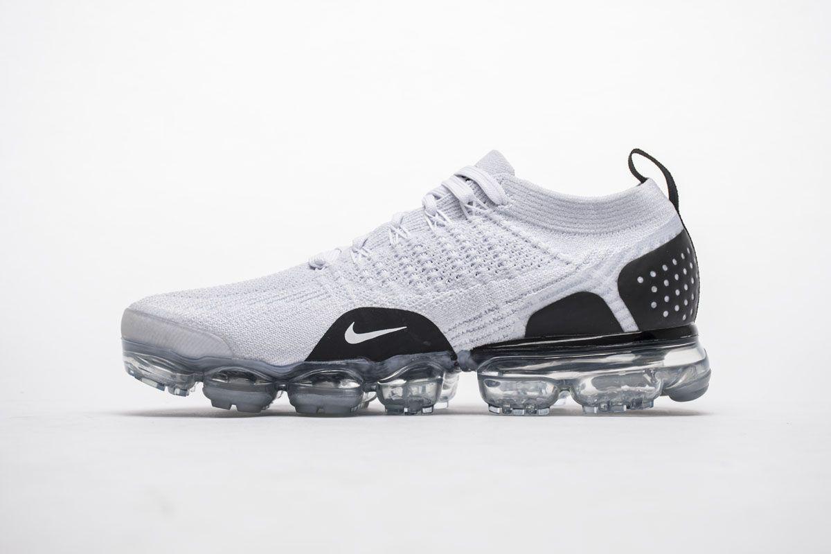 f6657040b437 Nike Air VaporMax 2.0 942842-103 White Black Mens Shoes2