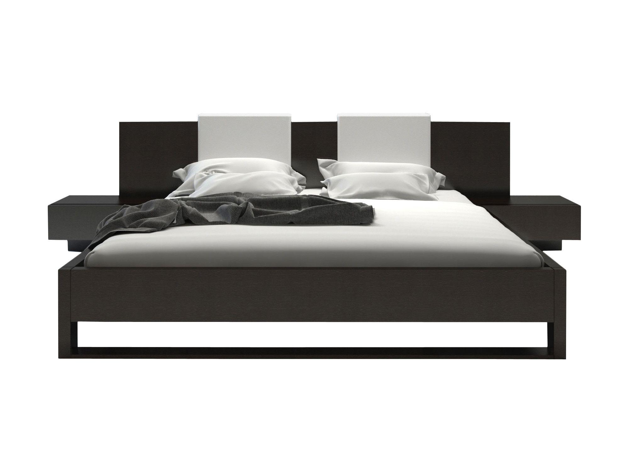 Best Monroe Upholstered Platform Bed White Platform Bed 640 x 480