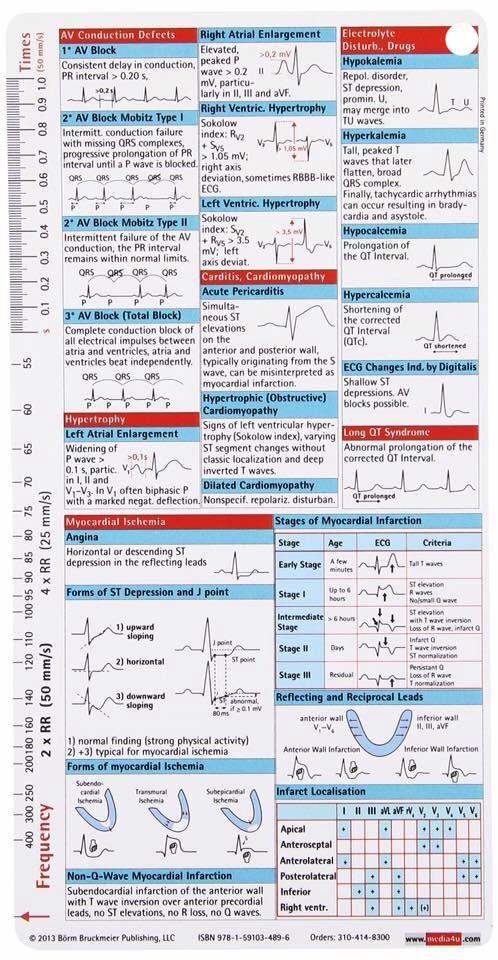 Ems flash cards | Cardiology ❤ | Pinterest | Medicina ...