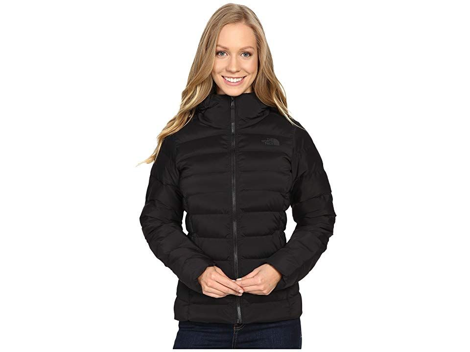 579851683117 The North Face Stretch Jacket (TNF Black) Women s Coat. A luxurious down  jacket
