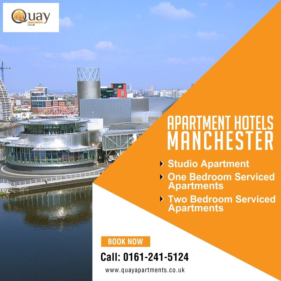 Pin by Quayapartments on Aparthotels Manchester | Studio ...