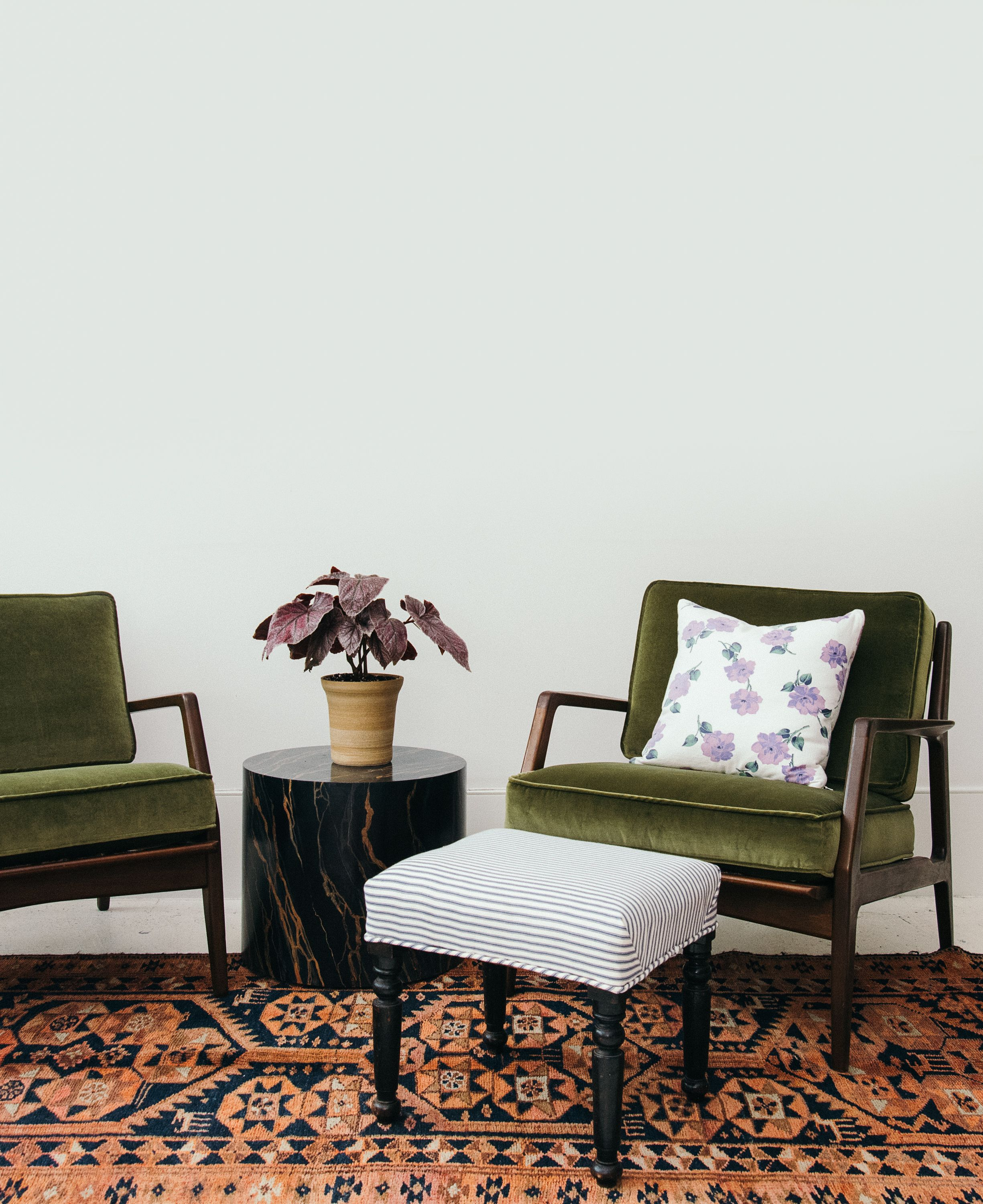 Pair Of Reupholstered Kofod Larsen For Selig Lounge Chairs Sunday Shop Furniture Lounge Chair Design Chairs Loft