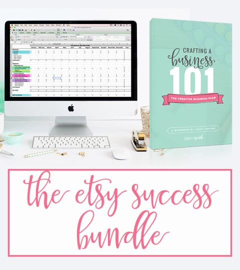 Etsy Success Bundle  The Etsy Seller Spreadsheet  The Creative