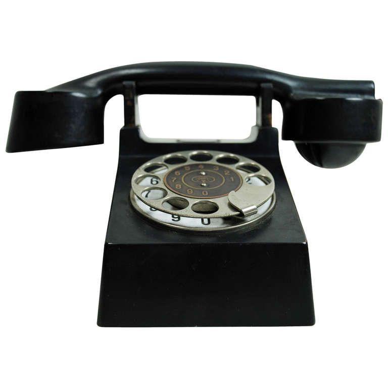"""""""Bauhaus"""" Phone 1929 Bauhaus, Retro phone"""