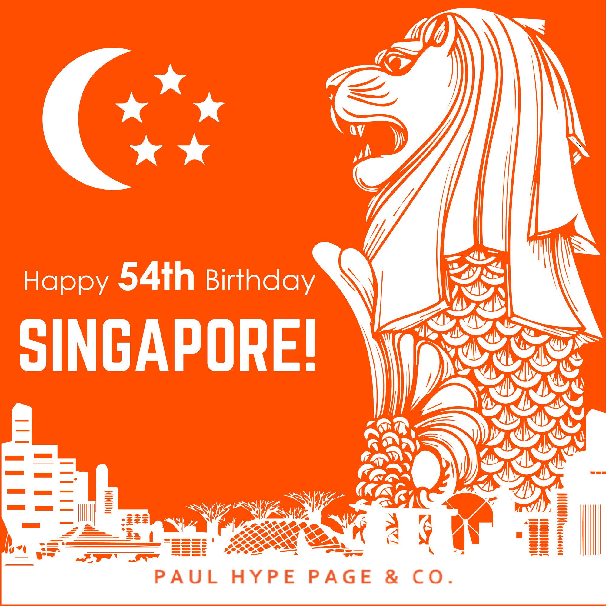 Today Singapore celebrates its 54th National Day! ⠀ We